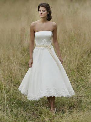 Promise To Love Backyard Wedding Dresses