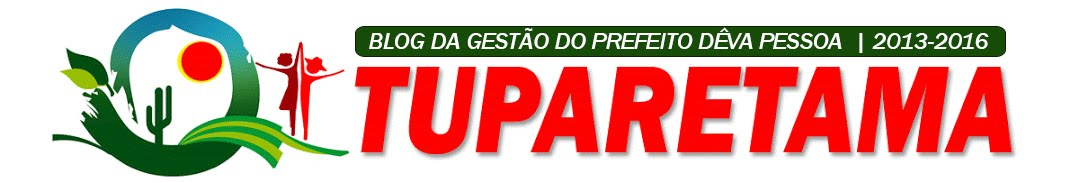 Blog do Governo de Tuparetama