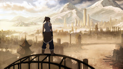 Avatar: the Legend of Korra PowerPoint Background