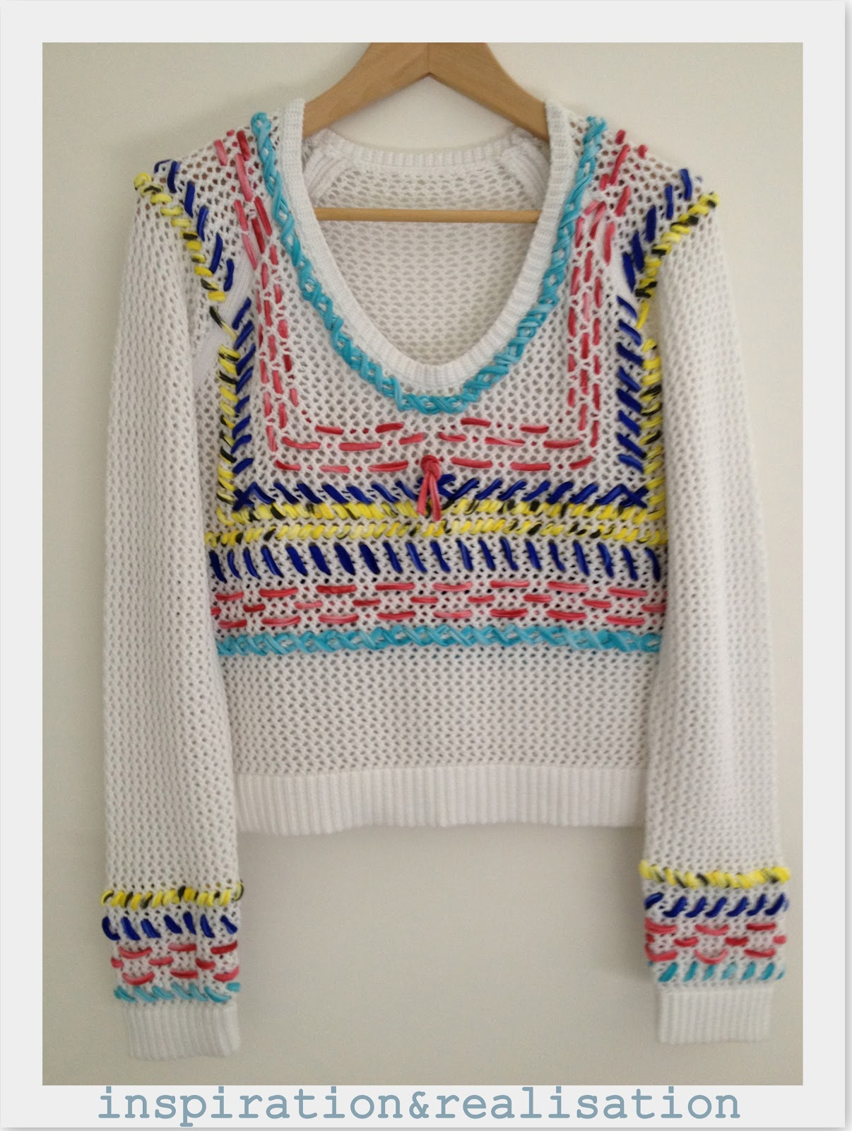 Inspiration and realisation diy fashion blog diy stitched open and diy the perfect summer open knit bankloansurffo Choice Image