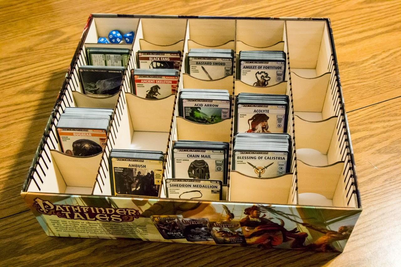 Органайзер для карт pathfinder своими руками 96