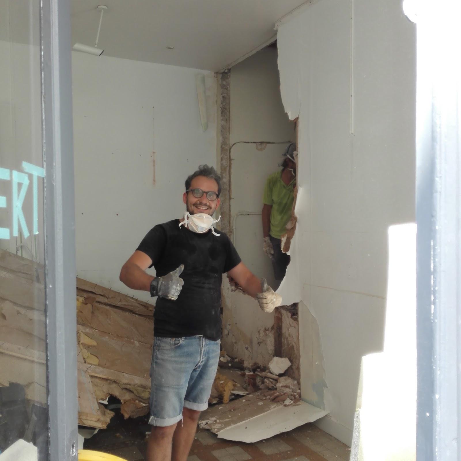 Le blog de balibert on a pouss les murs - Comment casser un mur ...