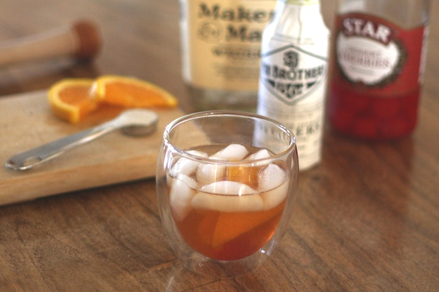 The Old Fashioned Cocktail recipe by Barefeet In The Kitchen