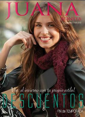 catalogo juana bonita agosto 2013