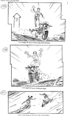 Storyboard - Mission Impossible II - Duel - 1