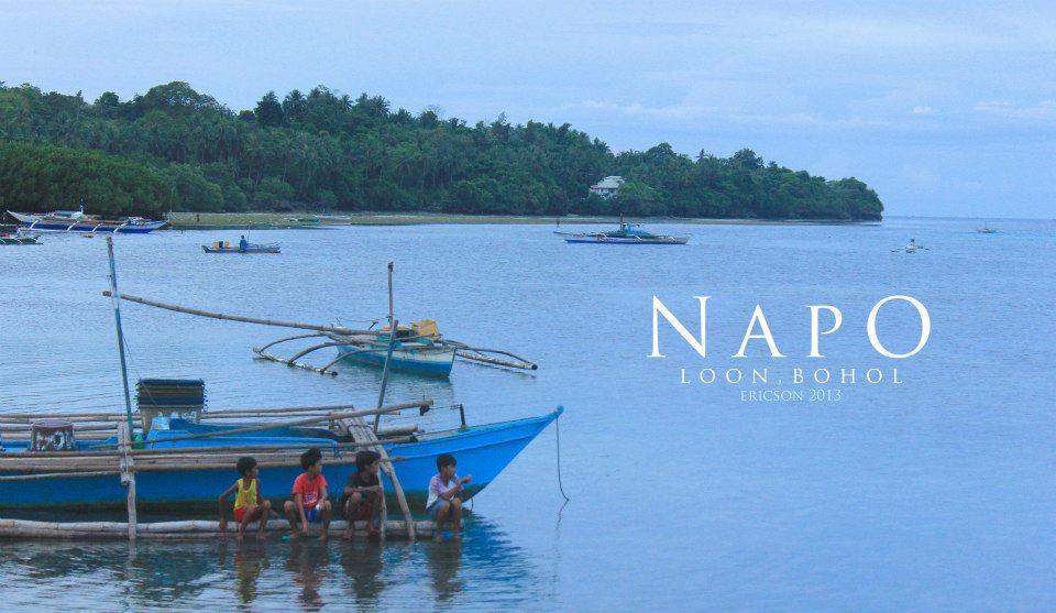 Napo, Loon, Bohol, seashore, tulay, tagbo