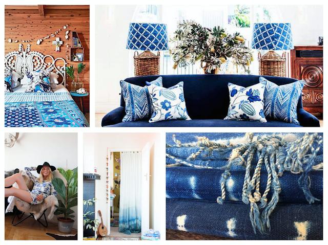 bleus,camaïeux,couleurs,the mood,inspiration,mode,déco,déferlante bleue