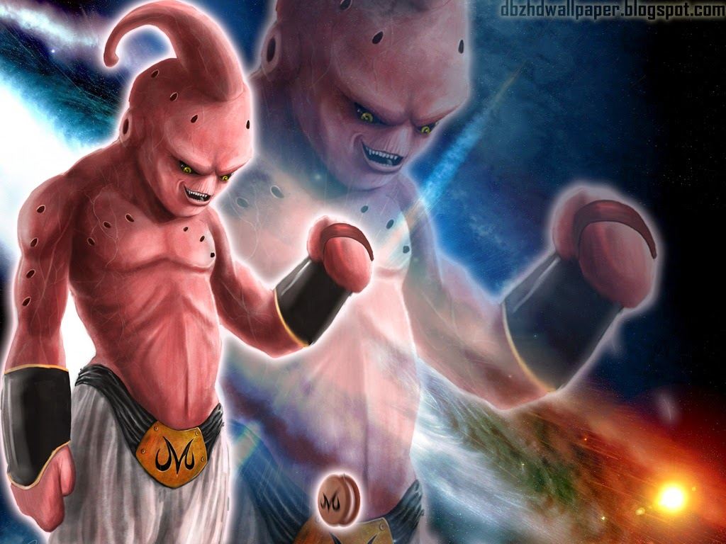 Kid Buu using the Planet Burst