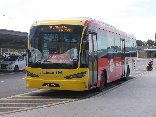 senai airport shuttle bus