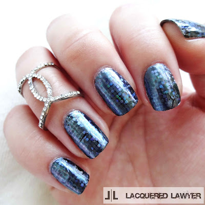 Fancy Foil Nails