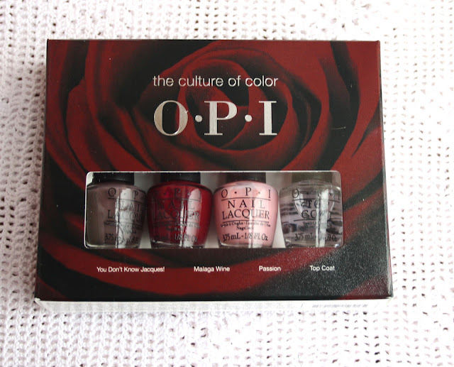 the culture of color opi nail polish set