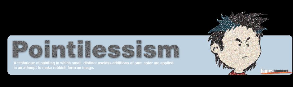 Pointilessism