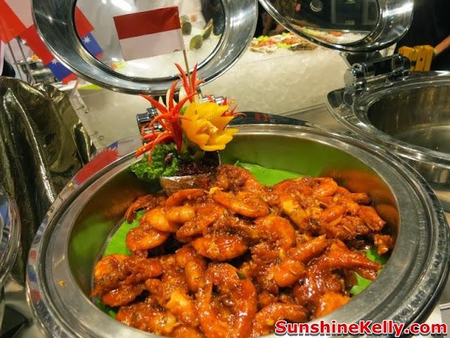 Fragrant prawn, Indonesia, World Buffet, Red Box Karaoke, lee kum kee, international buffet, rex box, green box, karaoke buffet food