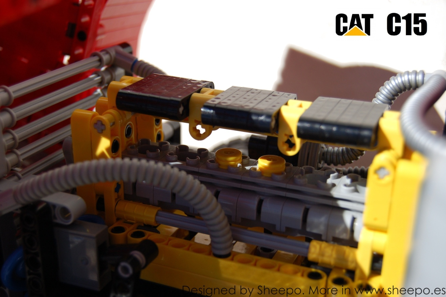 Peterbilt 379 Cat C15 A Lego Creation By Sheepo 39 S