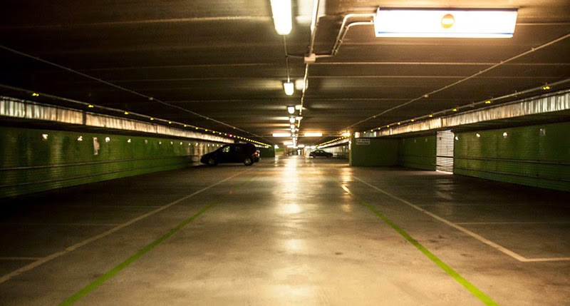 parking de la Avenida Portugal, Garrido, Salamanca
