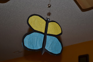 Craft It Friday  Sun Catcher Butterfly