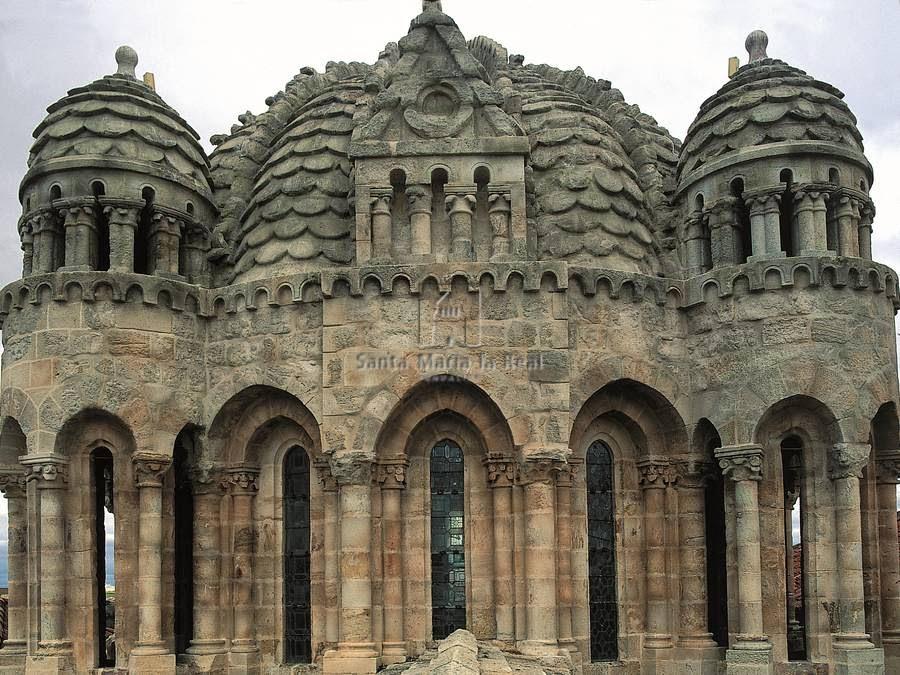 Arte para ni os caracter sticas del rom nico de for Catedral de zamora interior