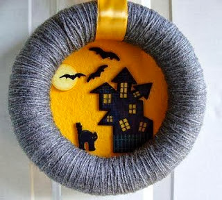 Halloween Decoration, Wreaths, part 4