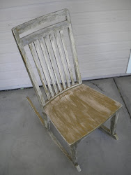 antique rocking chair...SOLD