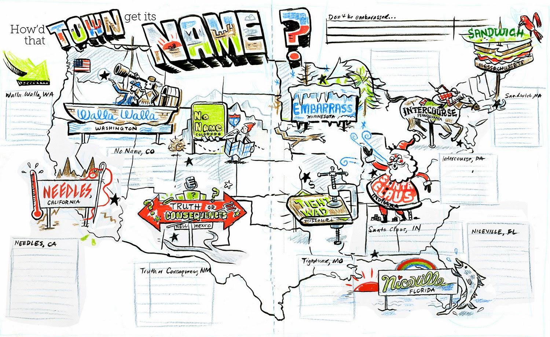Zettwochs Suitcase February - Florida map niceville