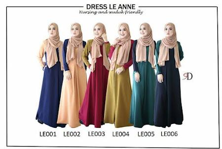 Memang CAir Hati Kalau Tengok Dress Le Anne Ni. Lain Dari Yang Lain. Cantik Sangat!