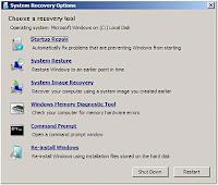 fix windows 7 startup error