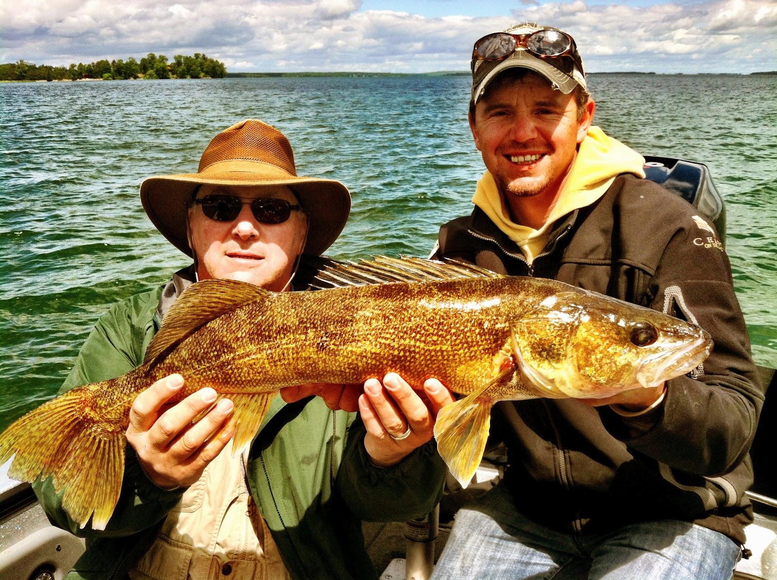 Leisure outdoor adventures leech lake fishing report and for Leech lake fishing