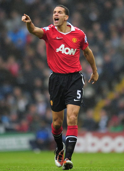 Rio Ferdinand Manchester United Pictures and Photos 2011-2012