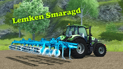 Free Download Farming Simulator 2013 MOD Lemken Smaragd 9/600
