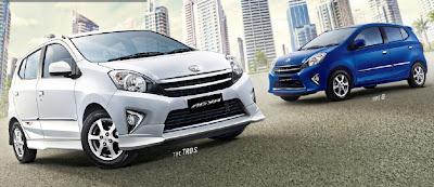 Harga Toyota Agya sebagai Mobil Murah Ramah Lingkungan