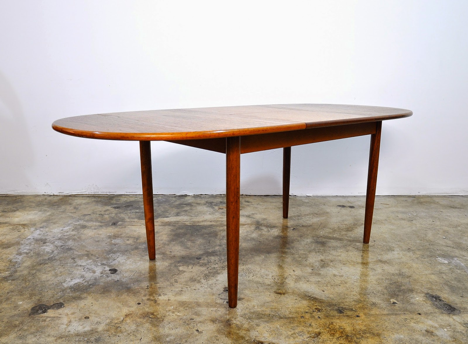 modern english modern meredew teak expandable dining room table