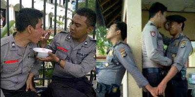 tingkah yang lucu. Berikut ini kumpulan foto lucu polisi indonesia