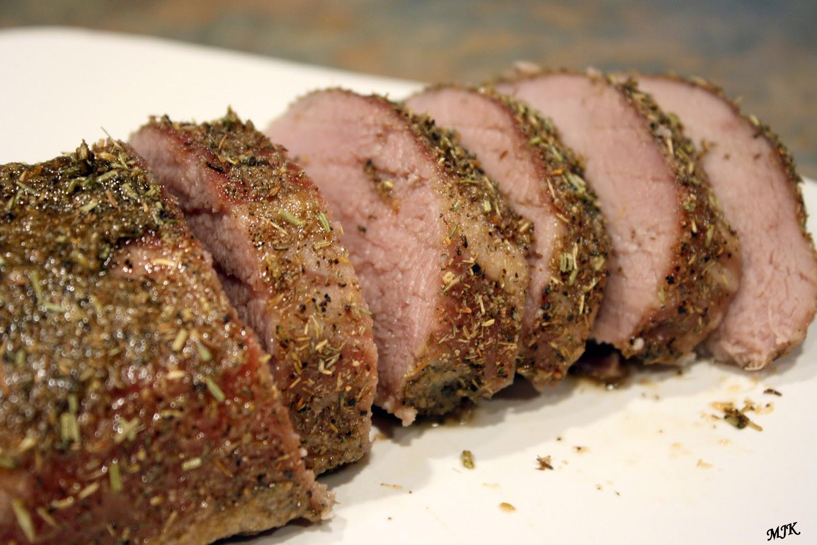 Melissa's Cuisine: Roasted Pork Loin