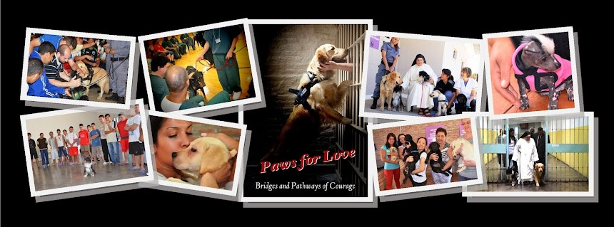 PRISON DOG PROGRAMS ~ BRIDGES and PATHWAYS of COURAGE