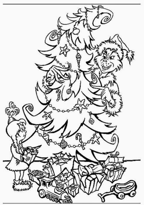 Grinch coloring sheets free coloring sheet for Coloring pages grinch
