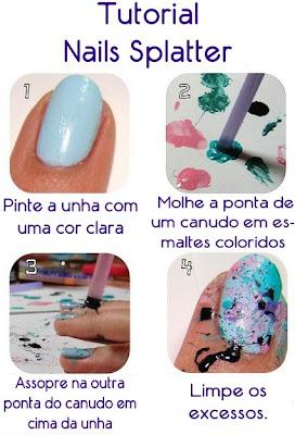 Nails Splatter Image35