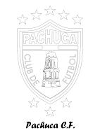 PACHUCA CF PARA COLOREAR