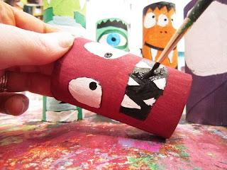 como hacer juguetes para halloween
