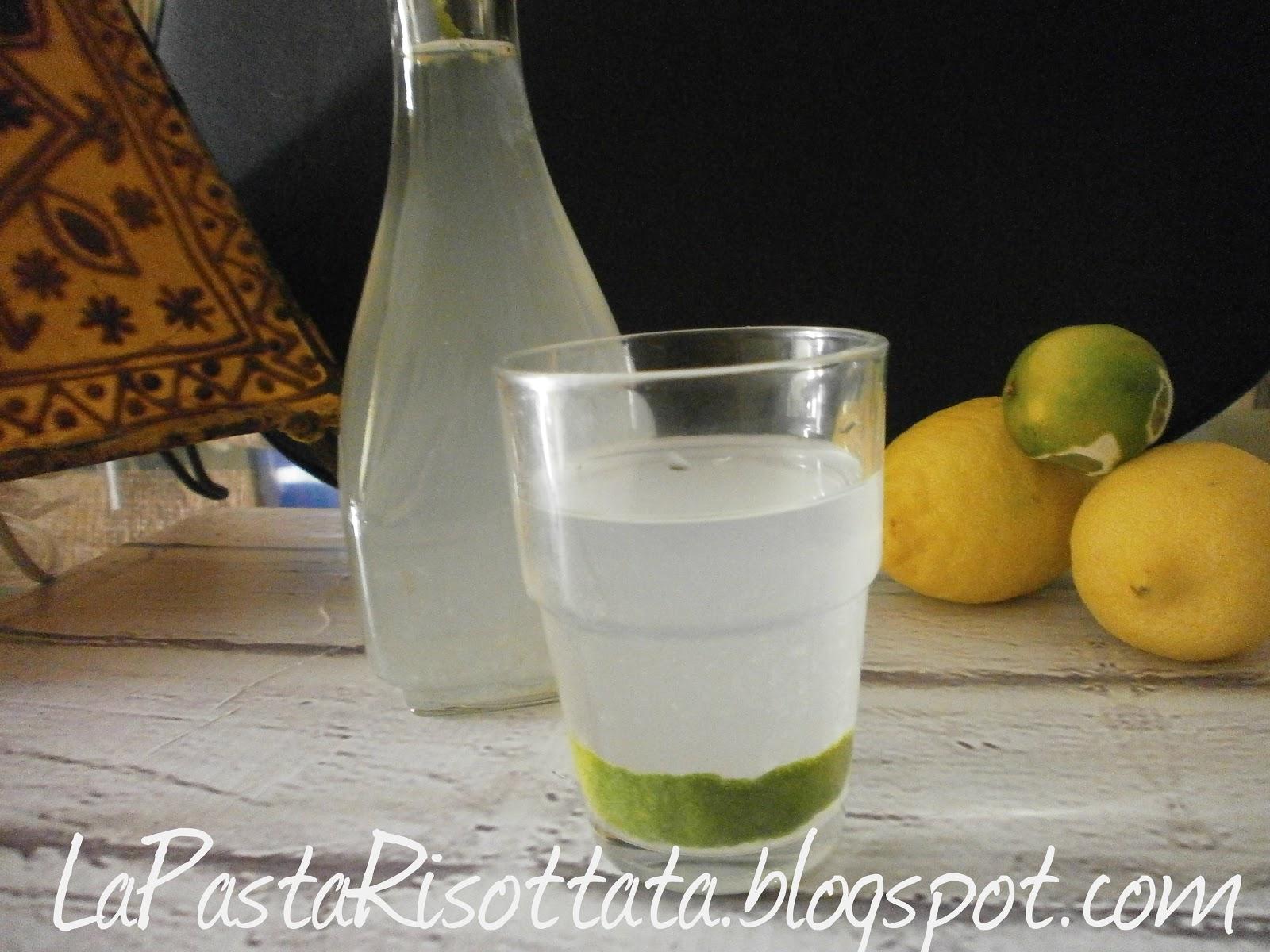 bevanda acqua zenzero e limone