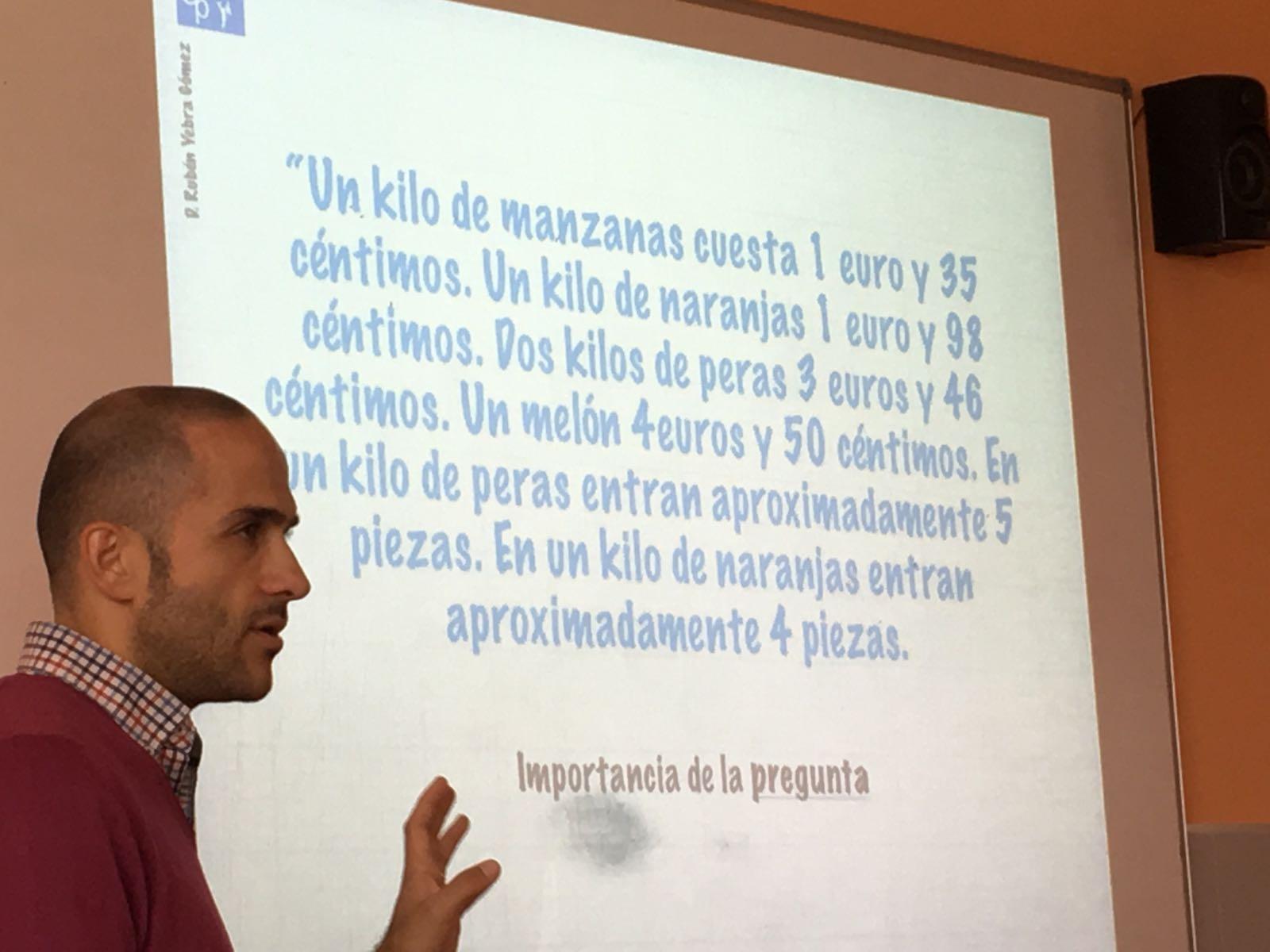 Rubén Yebra Gómez. Formador de didáctica de las Matemáticas.