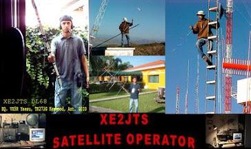 XE2JTS trabajando satèlite