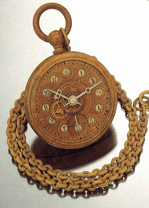 N-M-Bronnikoff-Wjatka-Russia-circa-1870-Wooden-watch