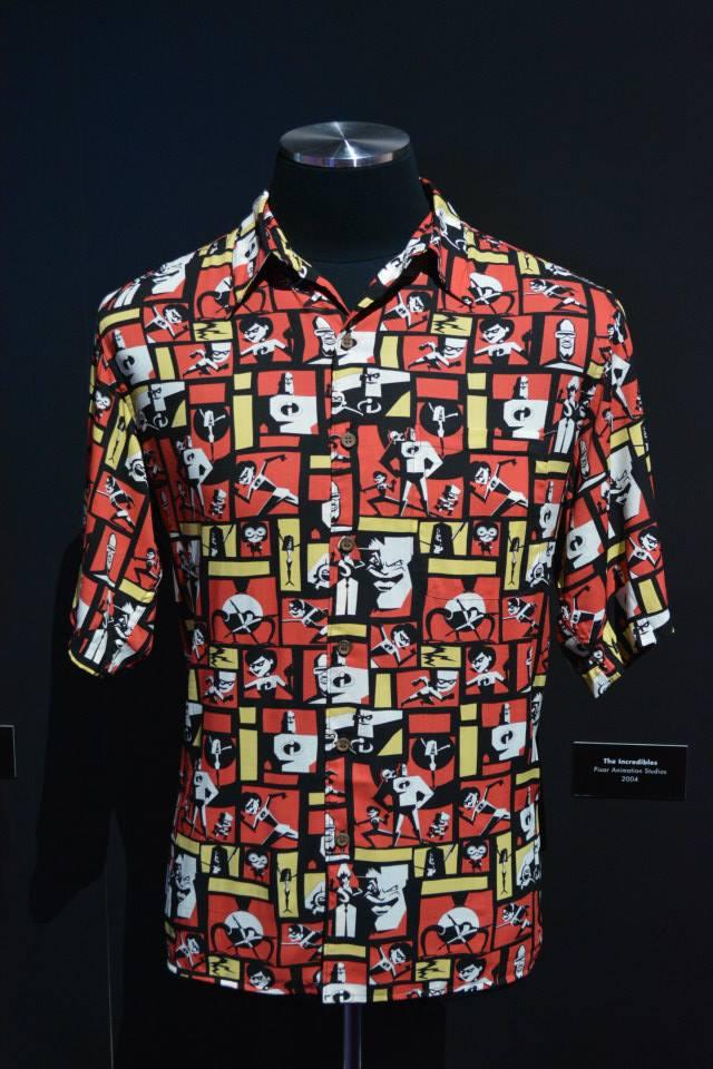 Sasaki time d23 expo 2015 john lasseter hawaiian shirt for John lasseter disney shirts