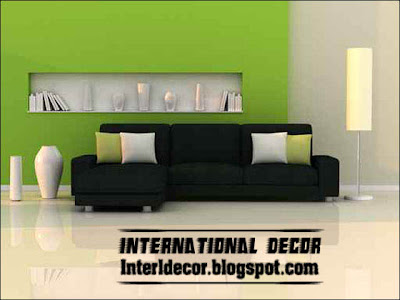Modern Sofas Furniture Models With Different Color - Modern Home ...