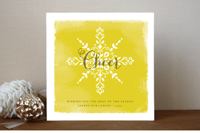 holiday cards for business and family from Minted.com