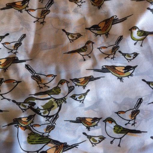 bird print pattern