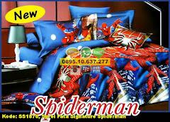 Harga Sprei Fata Signature Spiderman Jual