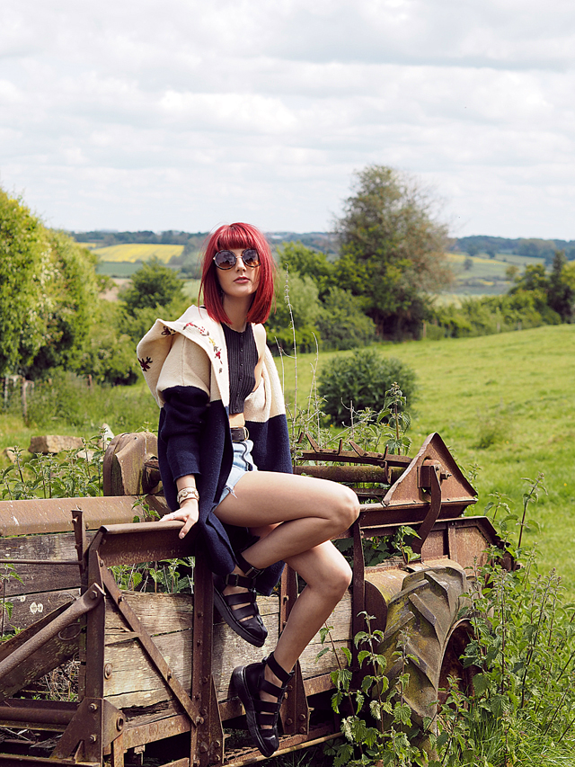 Festival fashion on Wonderful You with Missguided, Levi's and Dr Martens.