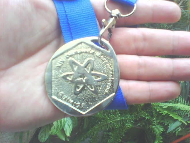 MEDALLA DE PLATA IBEROAMERICANA XIII O.I.A.Q LA HABANA CUBA 2009