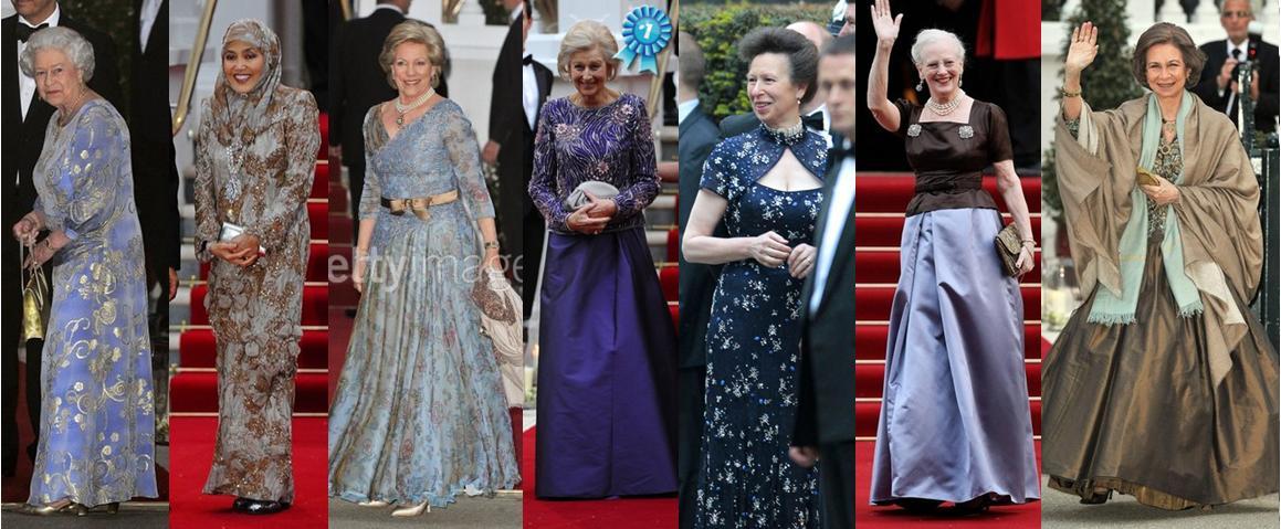 Queen Margrethe And Queen Elizabeth l to r Queen Elizabeth ii